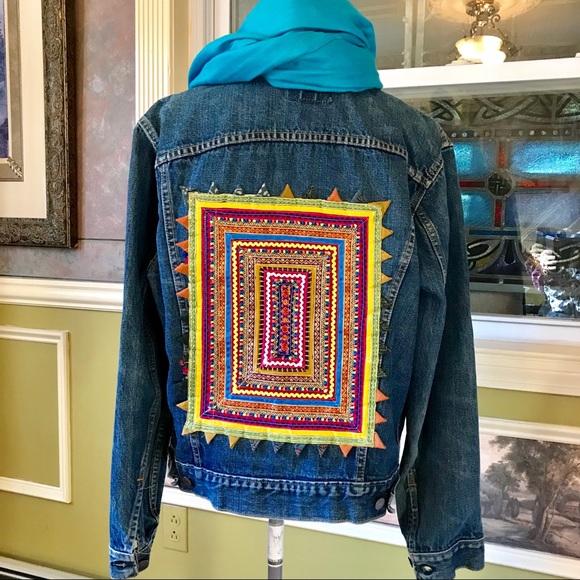 Levi's Jackets & Blazers - Upcycled Levi Denim Jacket